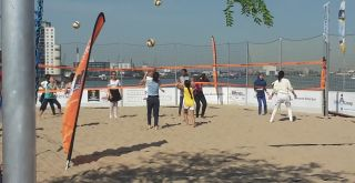 Site-events WK beachvolleybal