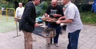 Barbecue op de dag van de leraar